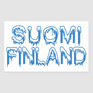 Snowy Finland stickers