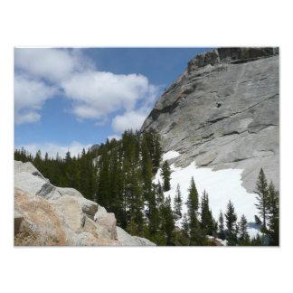 Snowy Granite Domes II Yosemite National Park Photo