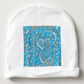Snowy Heart Baby Hat Baby Beanie