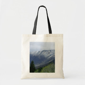 Snowy Highlands Tote Bag