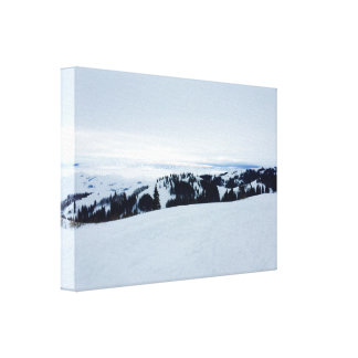 Snowy Idaho Canvas