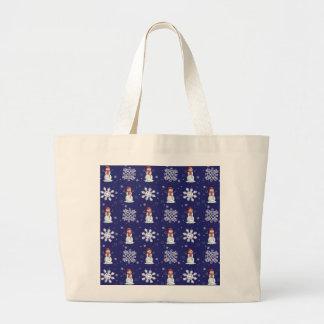 Snowy Jumbo Tote Bag