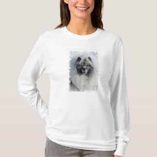 Snowy Keeshond Tshirt