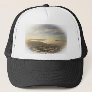 Snowy lake cap