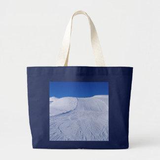 snowy landscape bag