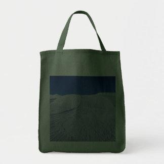 snowy landscape canvas bag
