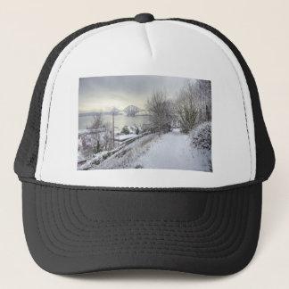 Snowy Lane Trucker Hat