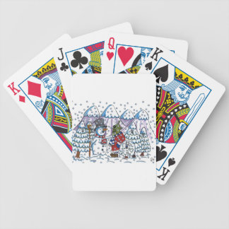 Snowy meets Martin Bicycle Playing Cards