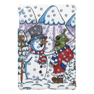 Snowy meets Martin iPad Mini Cases