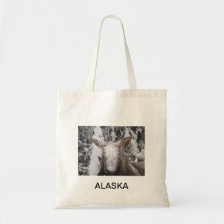 Snowy Moose In Alaska Bags