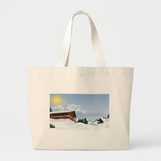 Snowy mountain bags