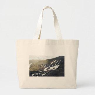 Snowy Mountain in Colorado Canvas Bag