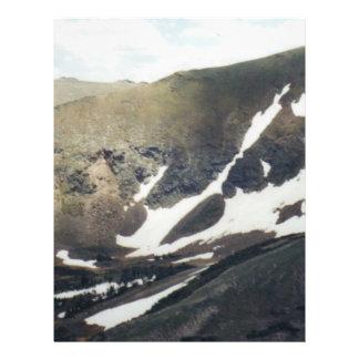 Snowy Mountain in Colorado Personalized Flyer