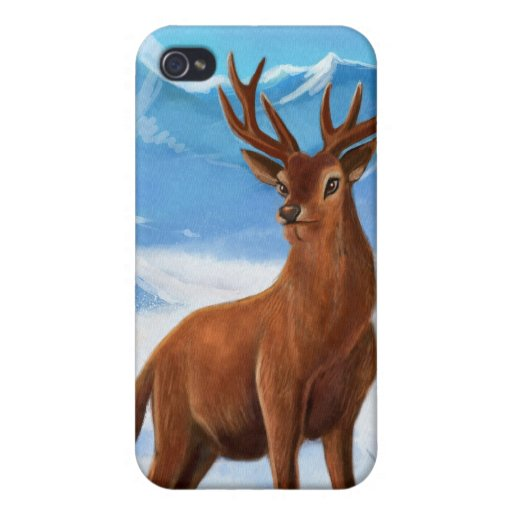 Snowy Mountain iPhone 4 Cases