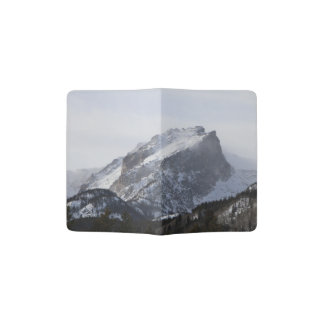 Snowy Mountain Passport Holder
