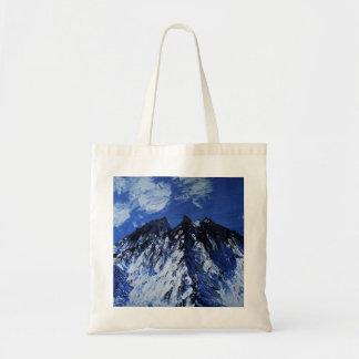 Snowy mountain tote
