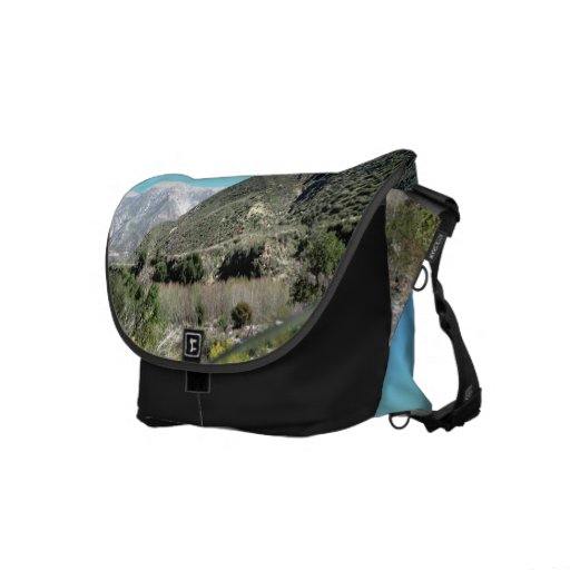 Snowy Mountains Courier Bag