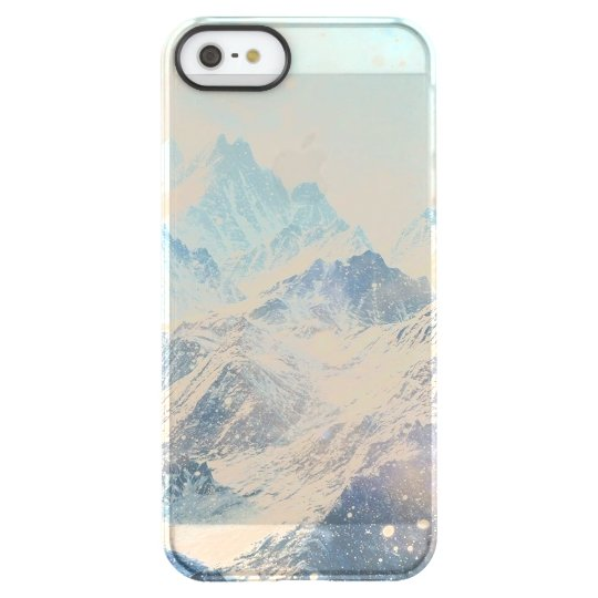 Snowy Mountains Permafrost® iPhone SE/5/5s Case