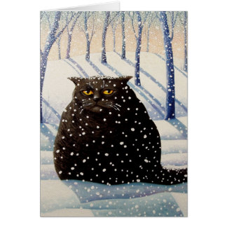 Snowy Note Card
