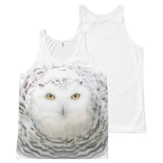 Snowy owl All-Over print tank top