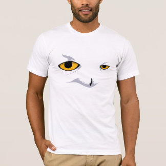 SNOWY OWL American Apparel (Fitted) T-Shirt
