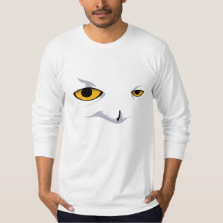 SNOWY OWL American Apparel Longsleeve (Fitted) T-Shirt