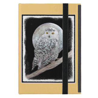 Snowy Owl and Moon Case For iPad Mini