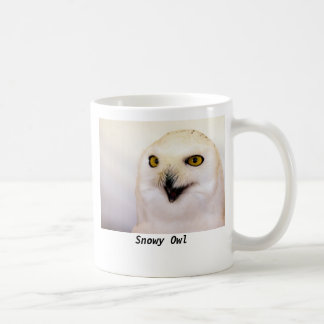 Snowy Owl Basic White Mug