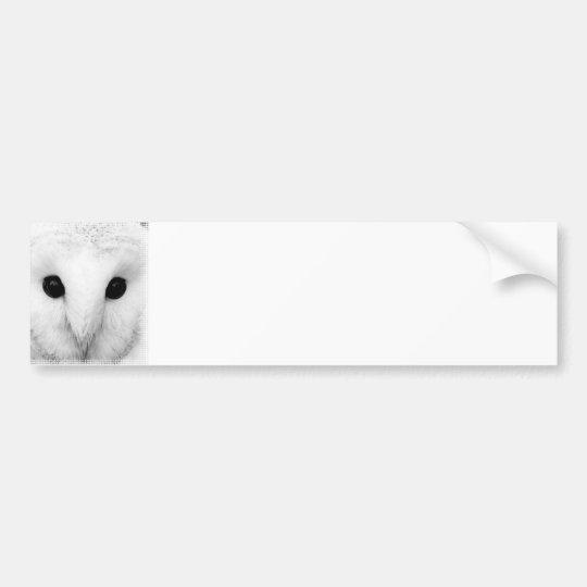 Snowy Owl Bumper Sticker