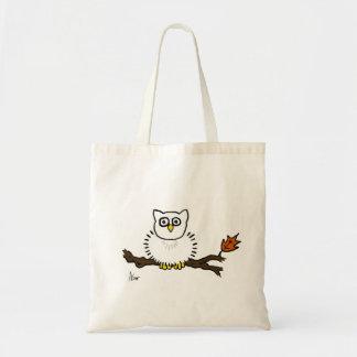 Snowy Owl Canvas Bag