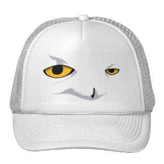 SNOWY OWL CAP