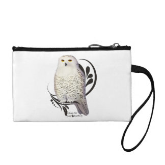 Snowy Owl Coin Wallets