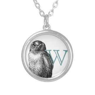 Snowy Owl Custom Necklace