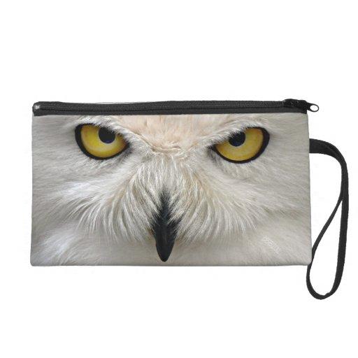 Snowy Owl Eyes Wristlets