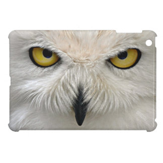 Snowy Owl Eyes iPad Mini Cases