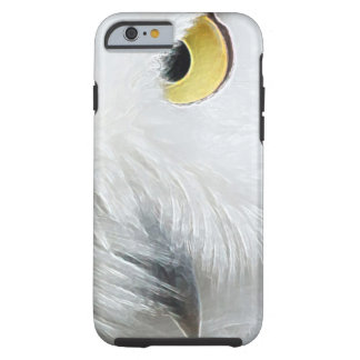 SNOWY OWL EYES TOUGH iPhone 6 CASE