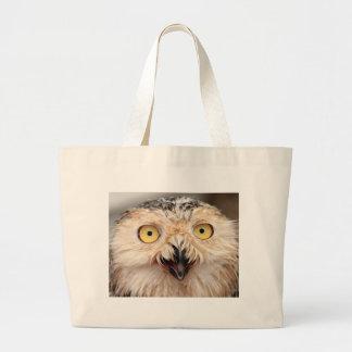 Snowy Owl Jumbo Tote Bag
