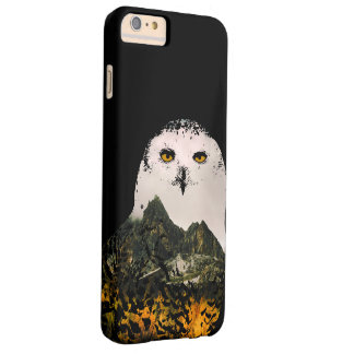 Snowy Owl Landscape II Barely There iPhone 6 Plus Case