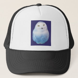 Snowy Owl Pattern Cap