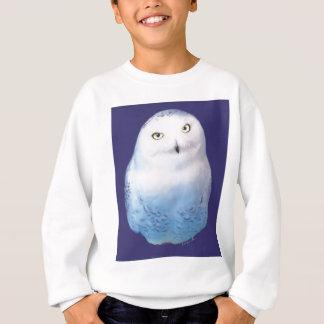 Snowy Owl Pattern Sweatshirt