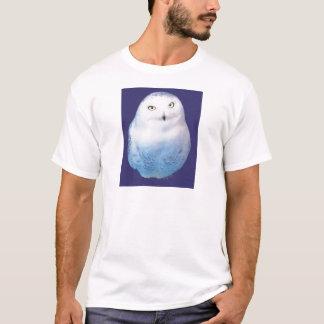 Snowy Owl Pattern T-Shirt