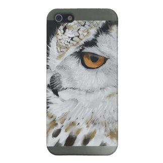 Snowy Owl phone Cover Case For iPhone 5/5S