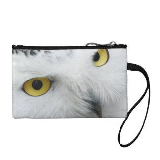 Snowy Owl Photo Wristlet