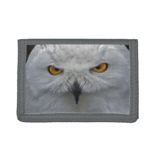 Snowy Owl Portrait Wallet