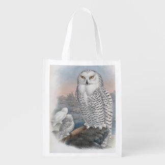 Snowy Owl Reusable Bag