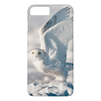 Snowy Owl taking off from snow iPhone 8 Plus/7 Plus Case