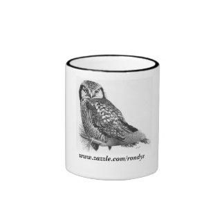 Snowy Owl, www.zazzle.com/rondys Mug