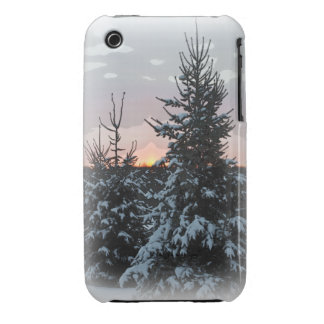 Snowy Pine iPhone 3G/3GS Case