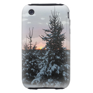Snowy Pine iPhone 3G/3GS Case Tough iPhone 3 Covers