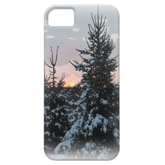 Snowy Pine iPhone 5 Case For The iPhone 5
